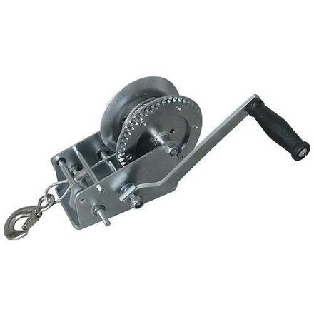 Strend Pro kézicsörlő, 450 kg 8m drótkötéllel, átmérője:4,5 mm