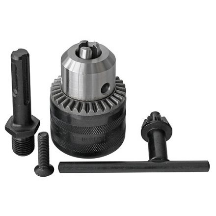 Strend Pro fúrógép tokmány 1,5 mm - 13 mm,sds adapterrel