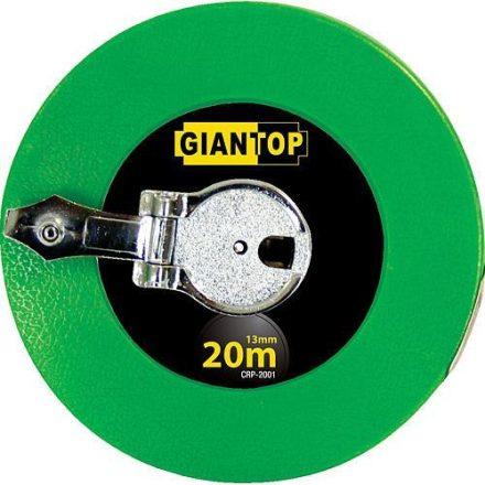 GIANTOP mérőszalag üvegszálas 20 m / 13 mm