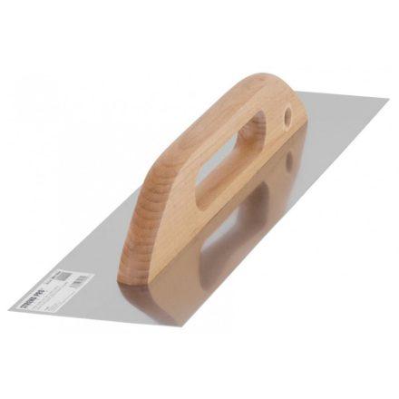 Strend Pro prémium glettvas Inox 380x130x0,7 mm