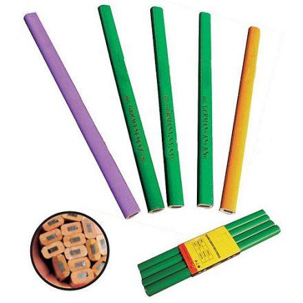 Strend Pro fekete ács ceruza 175 mm 12 db/csomag