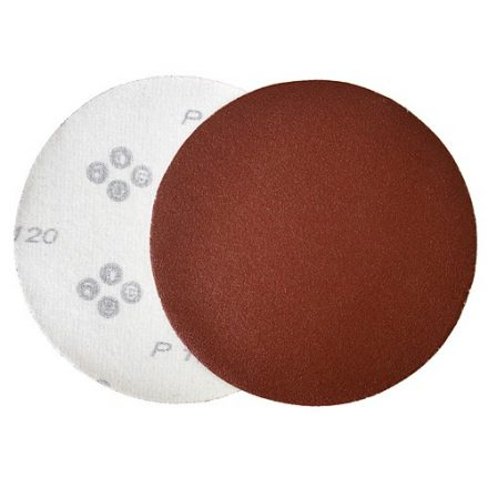 KONER tépőzáras csiszolóvászon 125 mm P36, AluOxide