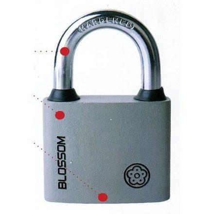 Blossom acél lakat 32 mm, magas fokozatú biztonsági zárszerkezet és test
