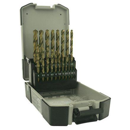 Strend Pro prémium fémfúró készlet, 1-13 mm 25 db-os, HSS, DIN338